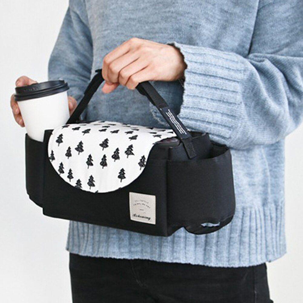 Baby Stroller Organizer Bag Mummy Diaper Bag Hook Baby