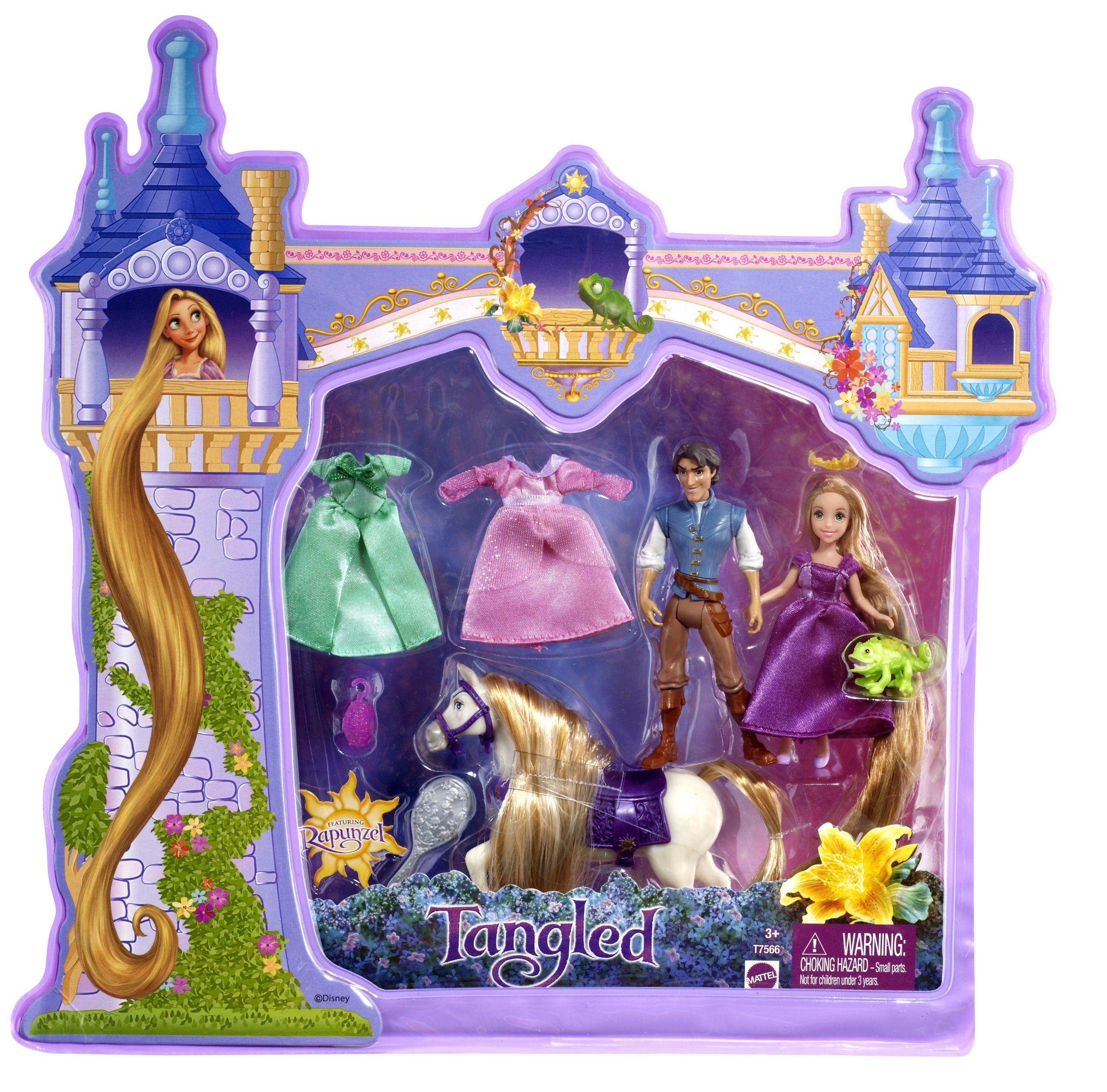 Disney tangled rapunzel deluxe story bag toys