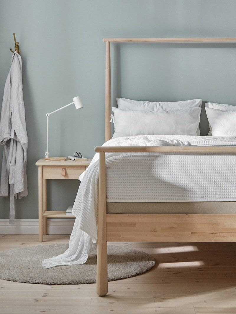 10 Clever Ikea Buys Practically Made For Small Bedrooms Bed Frame Headboard Malm Bed Frame Adjustable Beds