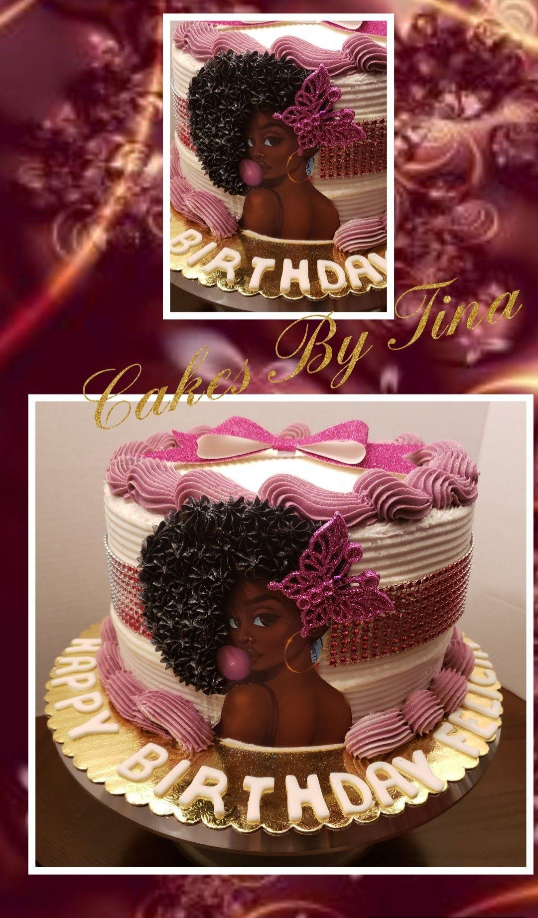 Awe Inspiring Diva Birthday Cake Vanilla Cake With Buttercream Funny Birthday Cards Online Alyptdamsfinfo