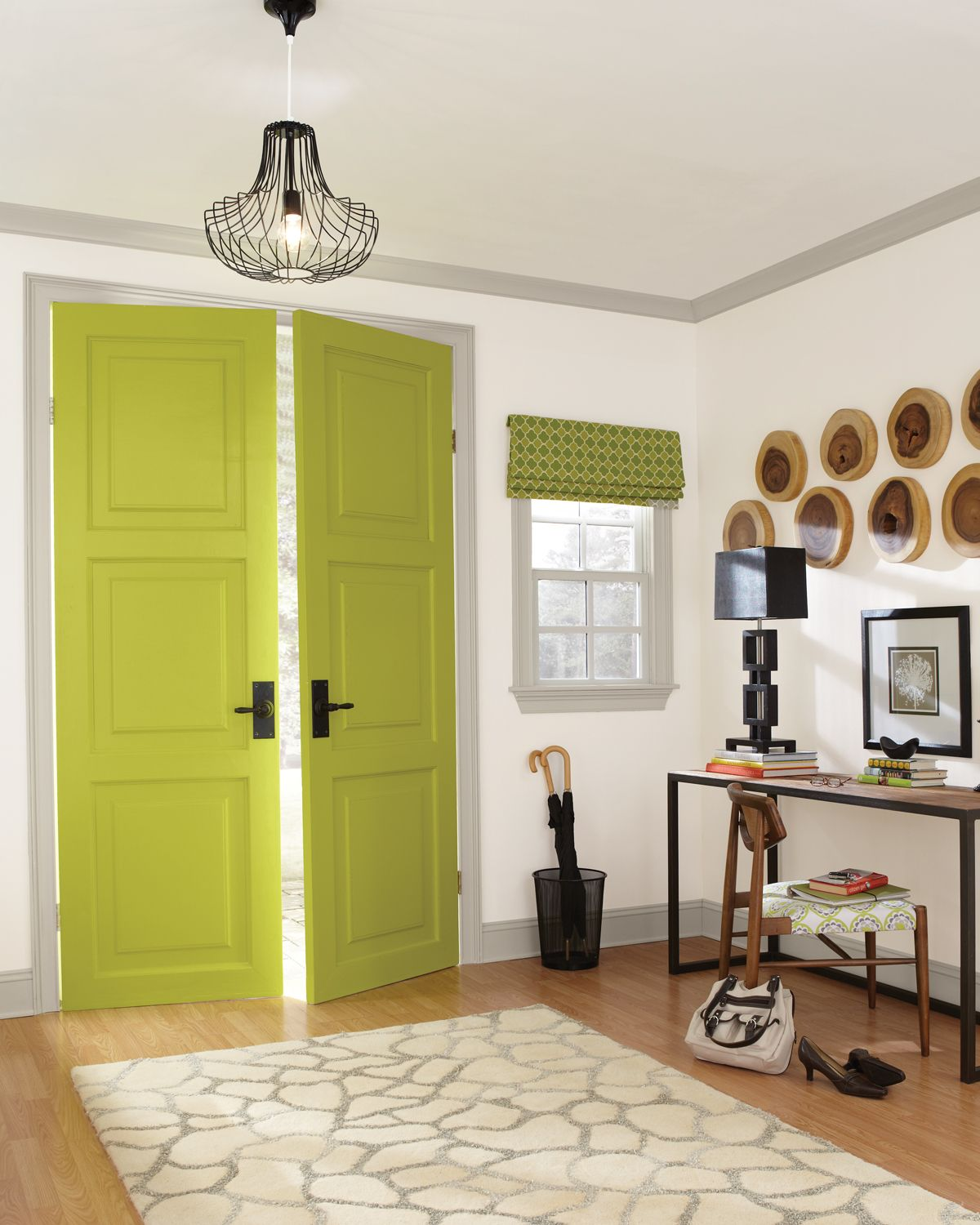 Painting a door is an easy way to make a bold impression in any ...