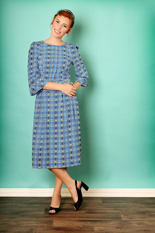 Elegant mididress,Holiday dress, Graduation dress,Party dress,50s ...