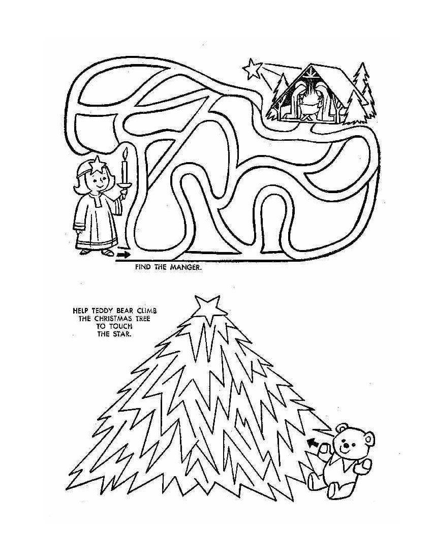 christmas mazes | christmas | Pinterest | Maze, Winter holidays and Xmas