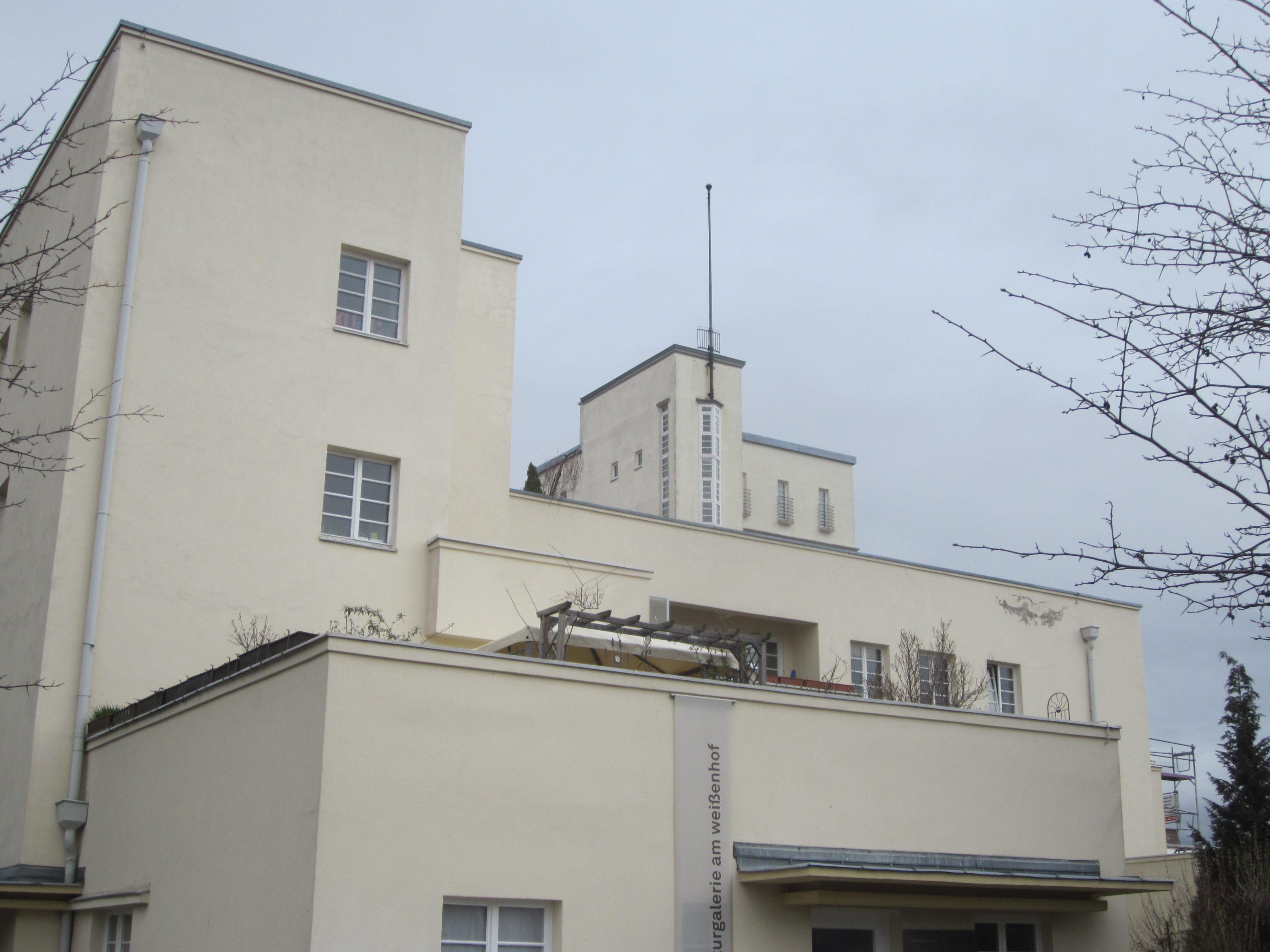 Weissenhof estate bauhaus architecture stuttgart photo by for Stuttgart architecture