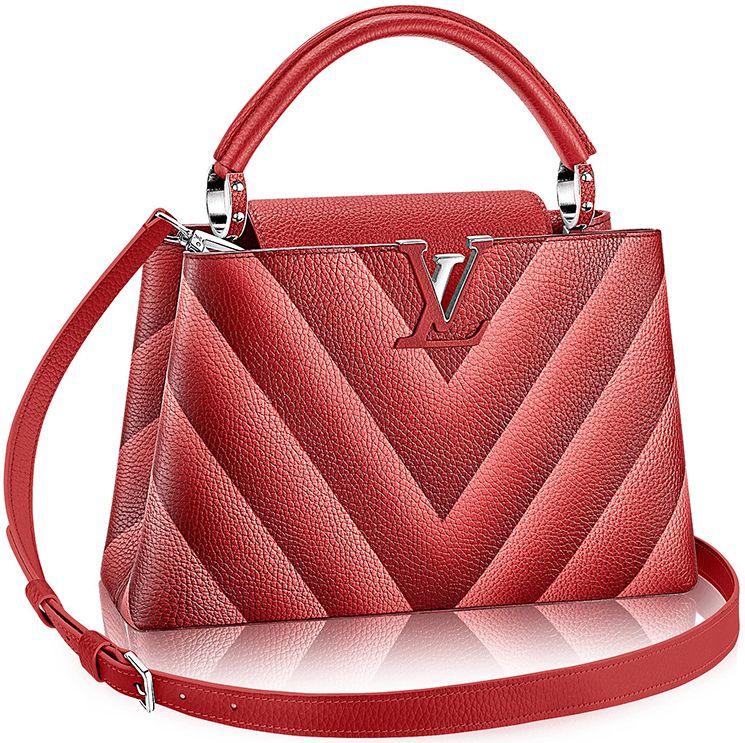 579c0c31e1b Louis Vuitton Chevron Capucines Bag   Bragmybag   Louis Vuitton ...