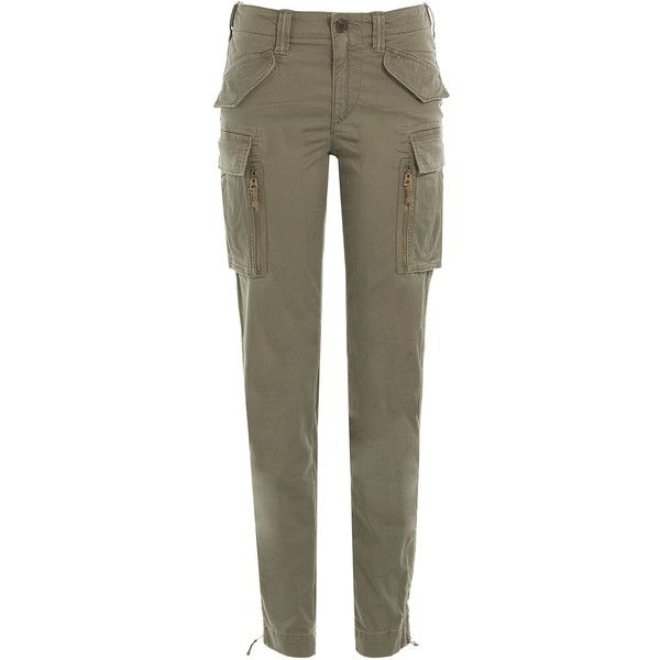Liked Cotton Polo Lauren Cargo Ralph Pants175❤ On Polyvore qMSLzVjUpG