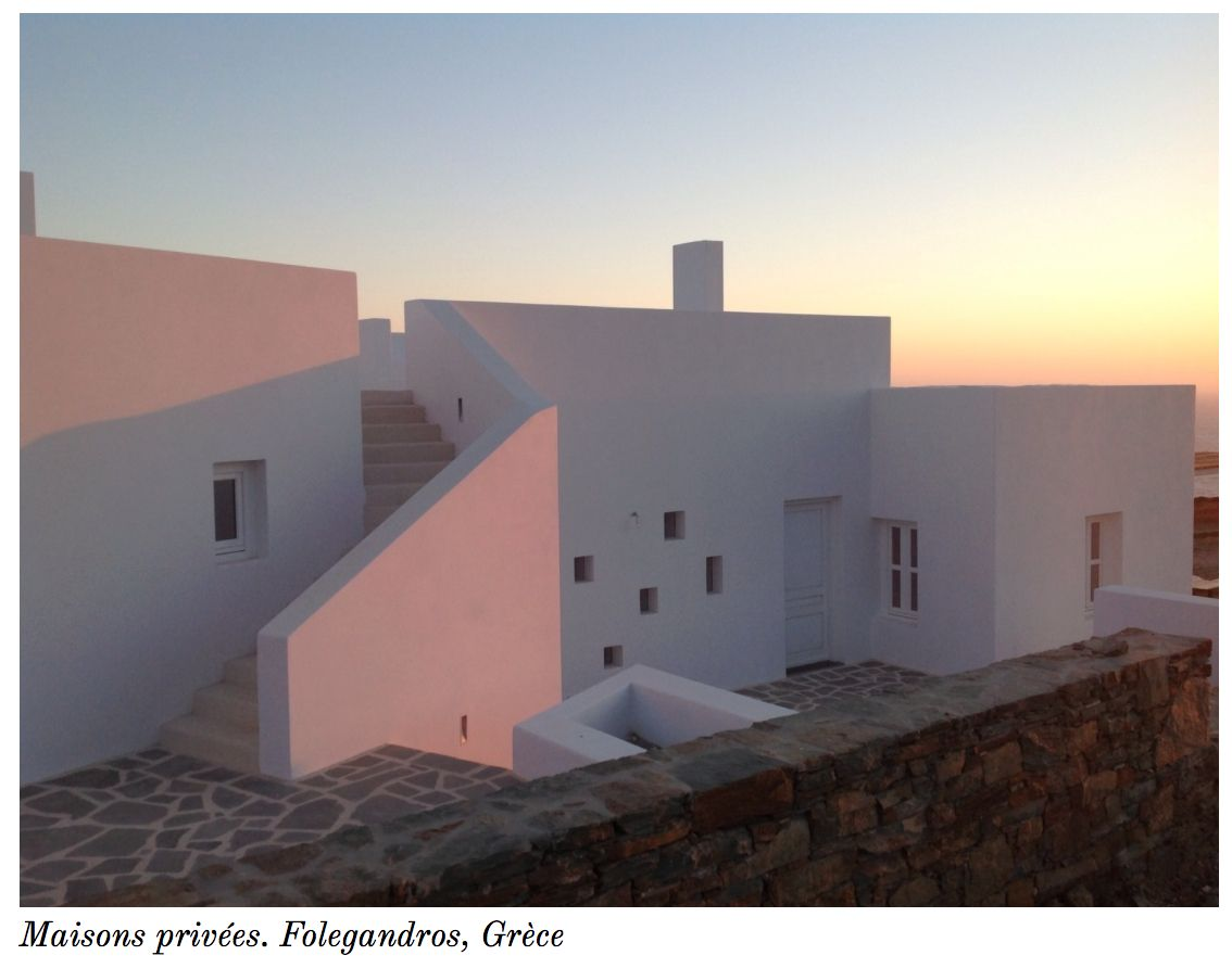 House in Folegandros www.abstrakt-architecture.com Cycladic architecture