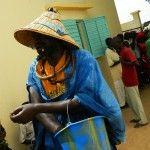 Guérisseur lors de la cérémonie de Diobaye