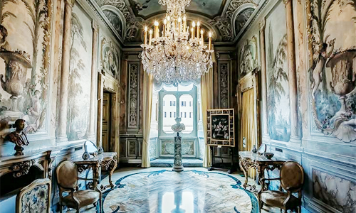 Palazzo Colonna, Roma. Those Colonnas, Man, They Never Mess Around. For