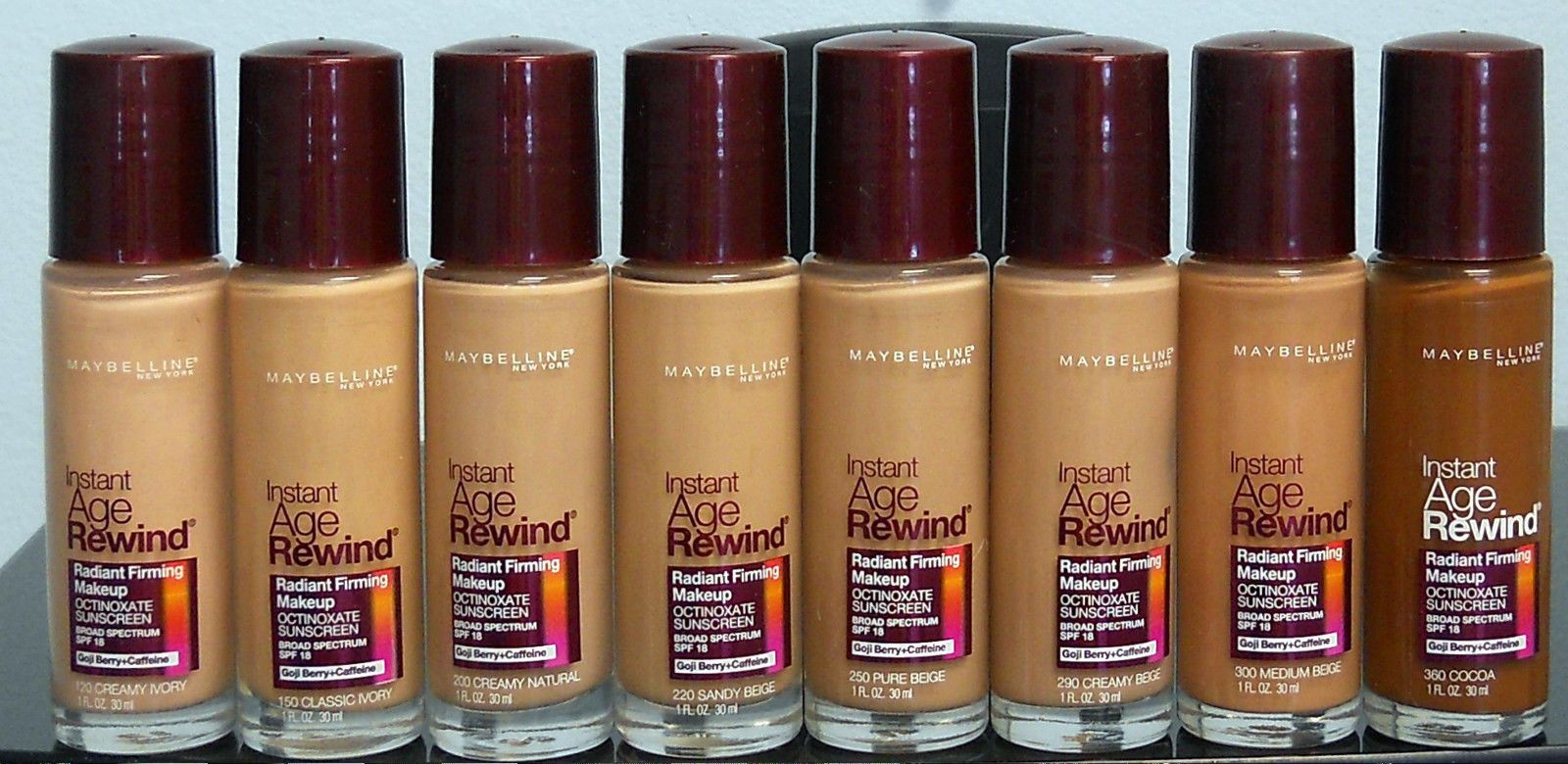 Maybelline Instant Age Rewind Radiant Firming Makeup Choose Your Color New Maybelline Instant Age Rewind Age Rewind Maybelline