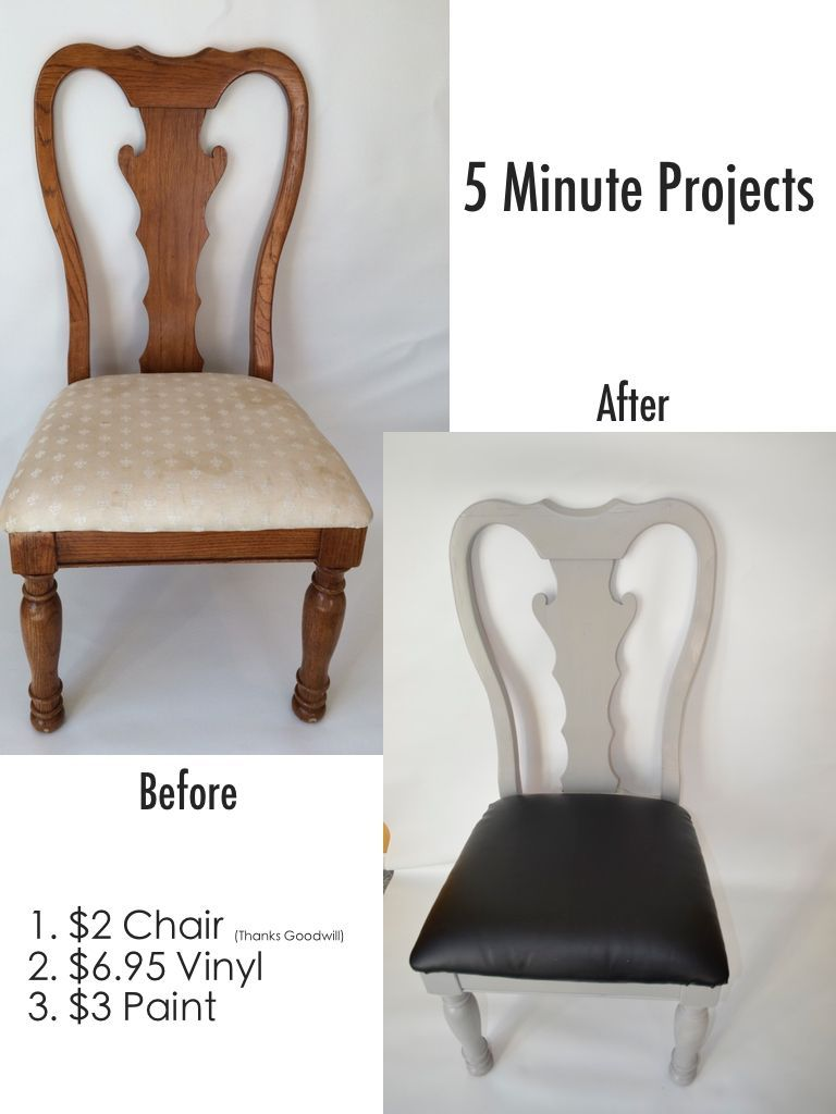 5 Minute Cheap Chair Makeover Cheap Chairs Chair Makeover Chair