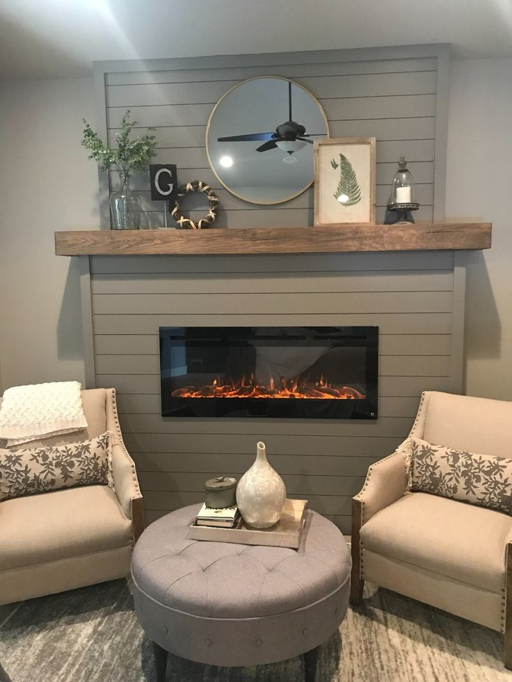 """Sideline 50 80004 50"""" Recessed Electric Fireplace in 2020 ..."""