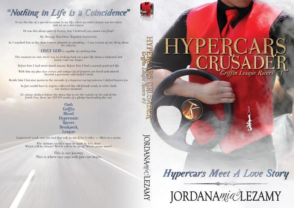 Sammy's Book Obsession: Cover Reveal & Giveaway: Hypercars Crusader (Griff... #SammysBookObsession #Giveaway