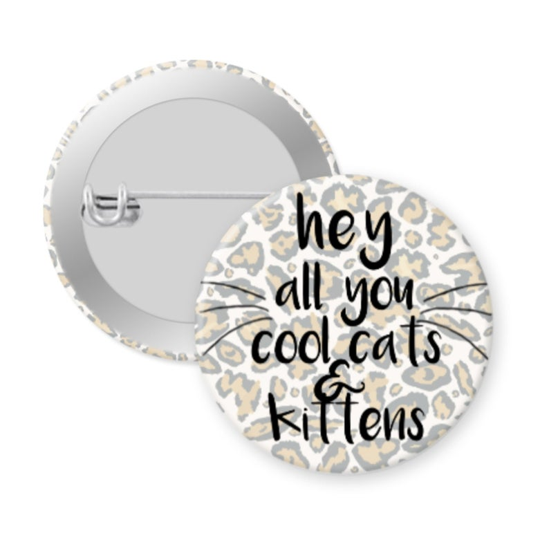 Tiger King Hey All You Cool Cats Kittens Pin Etsy In 2020 Cool Cats Cats And Kittens Kittens