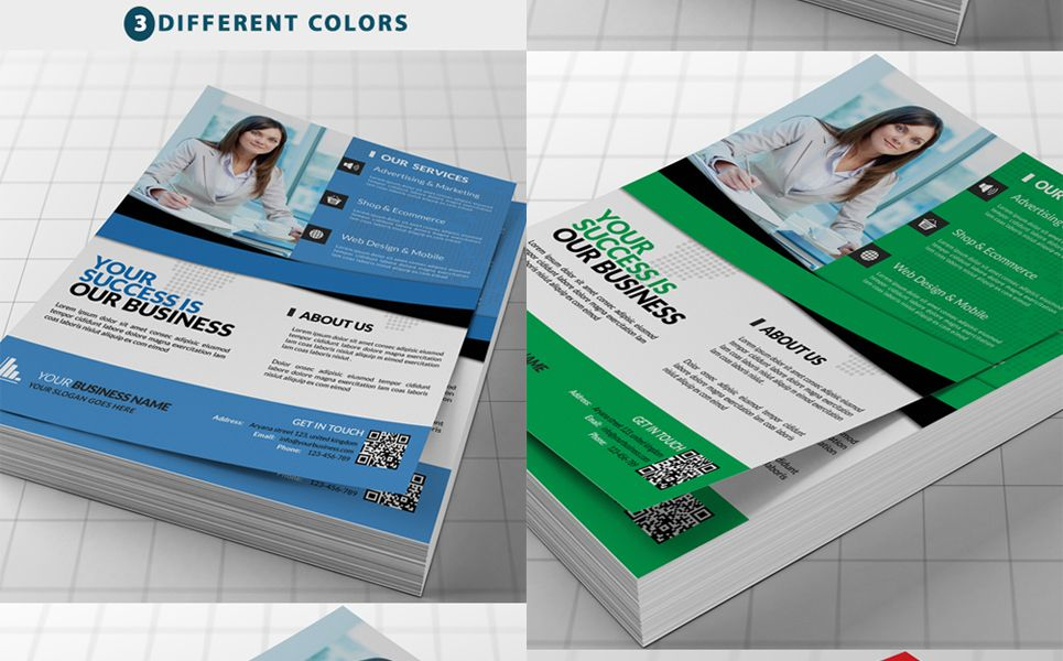 Template For Magazine Advertisement