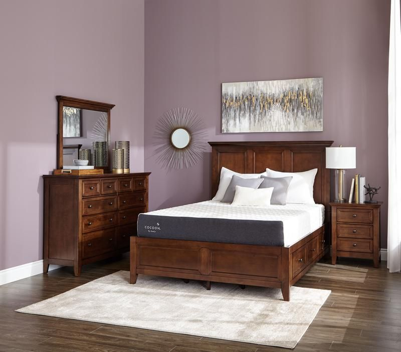 San Mateo 7 Piece Queen Bedroom Set Tuscan Queen Bedroom Bedroom Bed Sizes