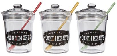 39Cute Condiment Jars, A Promo and a GIVEAWAY!