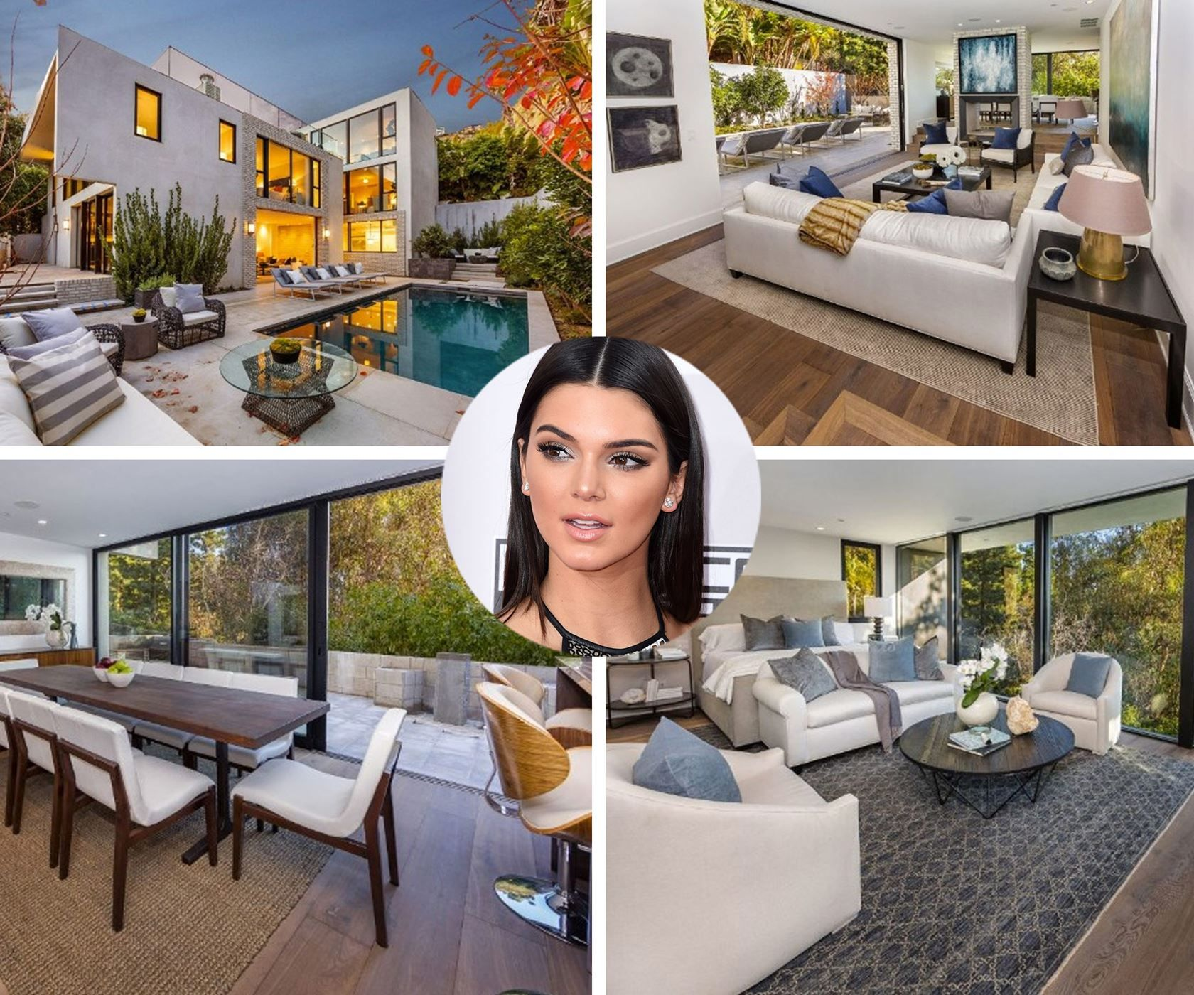 Kendall Jenner purchased John Krasinski and Emily Blunt's West Hollywood home for $6.5 million. The stunning home has six bedrooms and four-and-a-half bathrooms.