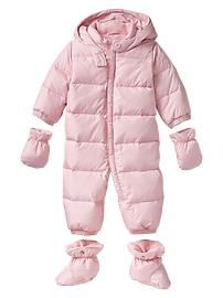 ede2fb917 Warmest puffer snowsuit