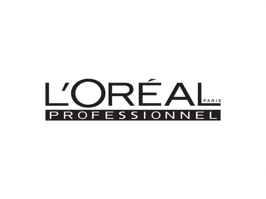 commercial logos beauty lor233al professional vector