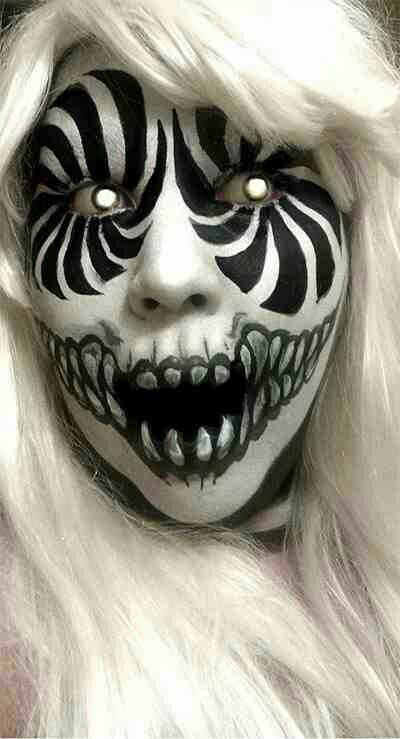 23 Times That Face Paint Was More Terrifying Than Masks Or Special