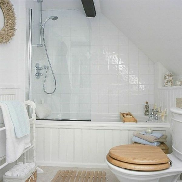 badewanne badgestaltung kleines bad dachschräge | badezimmer ... | {Badewanne dachgeschoss 45}