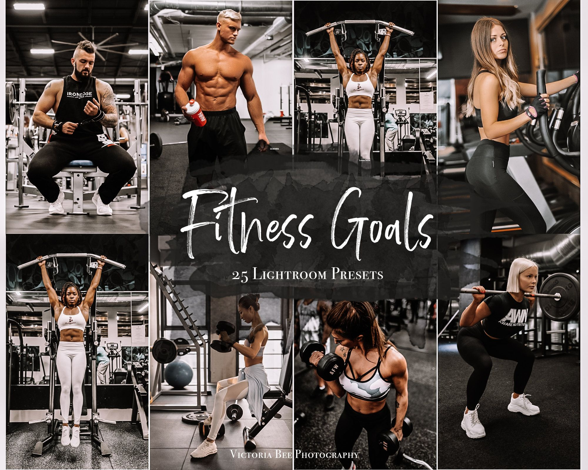 25 Fitness Lightroom Presets Gym Instagram Filter Moody Workout Presets For Mobile Lightroom Crossfit Photo Editing Couples Fitness Photography Workout Pictures Fitness Instagram