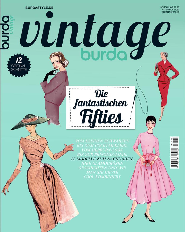 burda vintage - Vom kleinen Schwarzen bis zum Cocktailkleid, vom ...