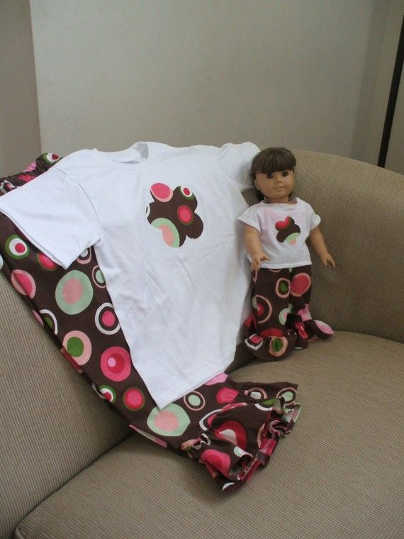 American Girl Bitty Baby ruffle bottom by CrystalsExpressions, $45.00