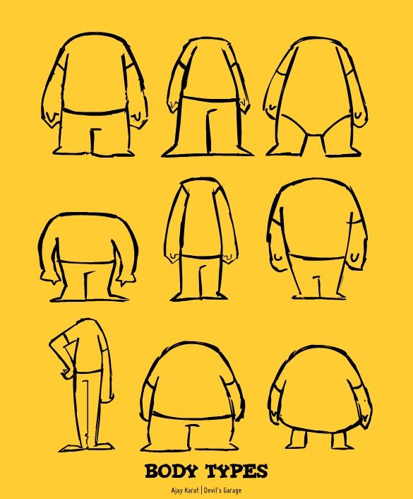 Character Design Body Shapes : Photos of different body shapes google search people