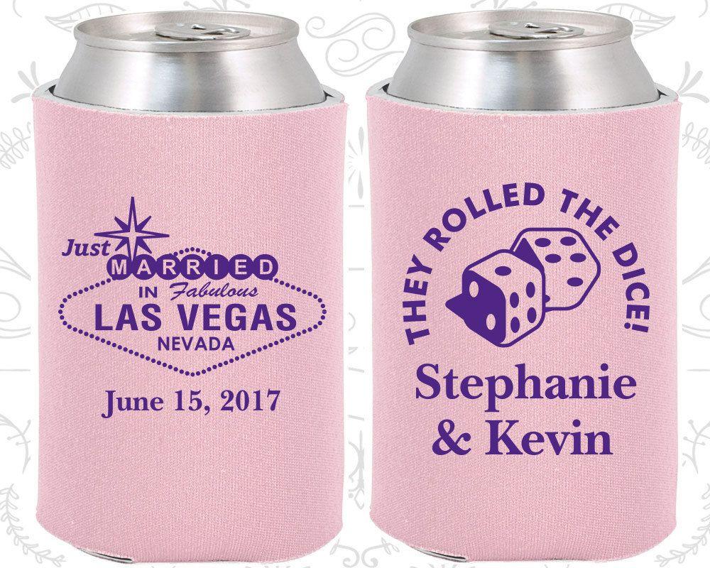Las Vegas Wedding Favors, Unique Wedding Favors, Just Married Gifts ...