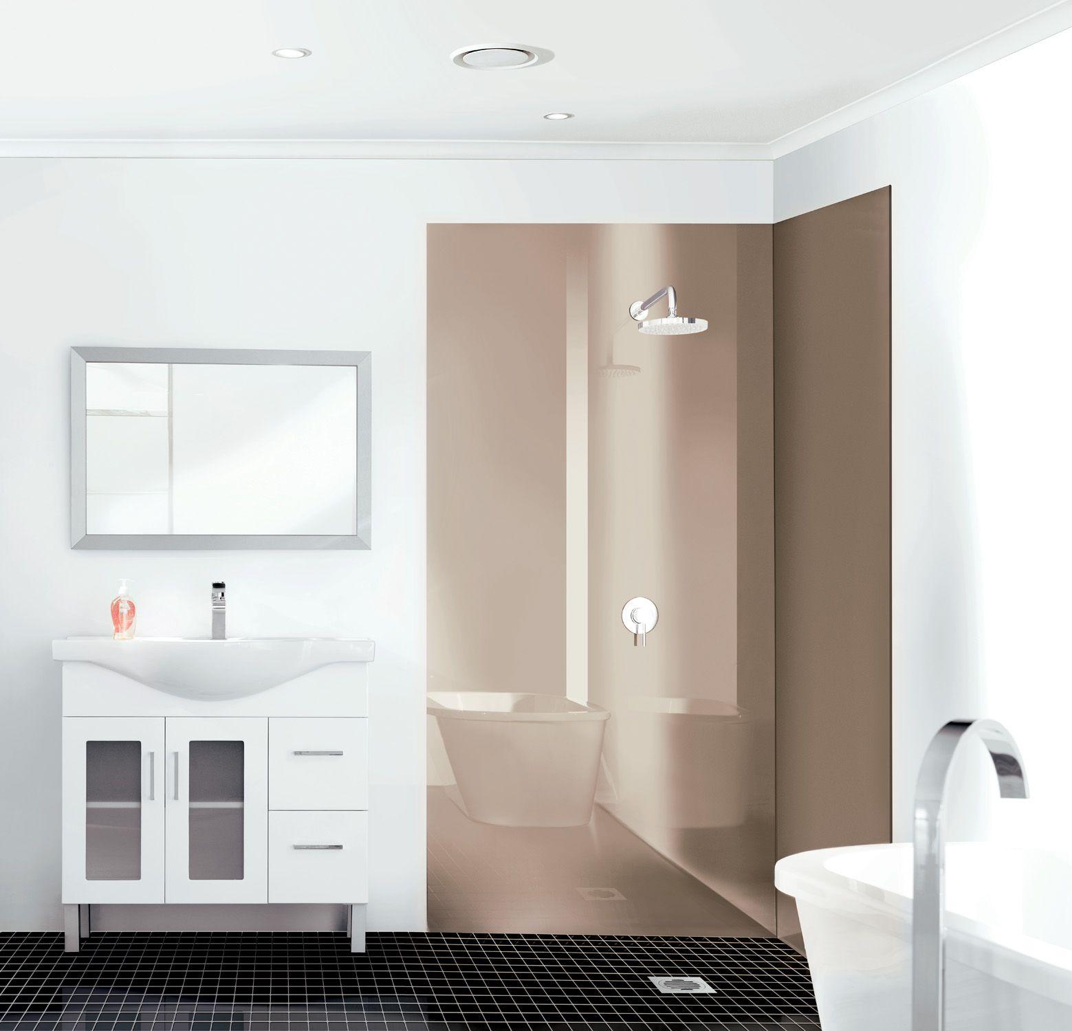 Acrylic wall panels for bathroom - Acrylic Wall Panels Lustrolite