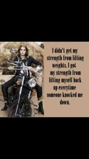 Biker girl quotes | quotes | Motorcycle, Motorcycle quotes, Quotes