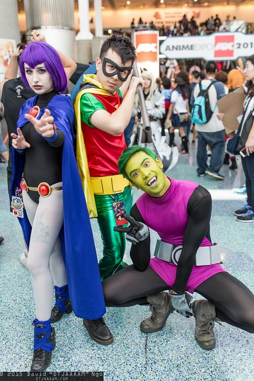 Beast Boy & Robin Cosplay - Teen Titans - Young Justice Costume | Costumery  | Pinterest | Robin cosplay, Beast boy and Young justice