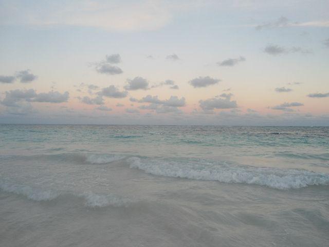 La unión del cielo y el mar en un lienzo que es paz y belleza para los ojos. República Dominicana.