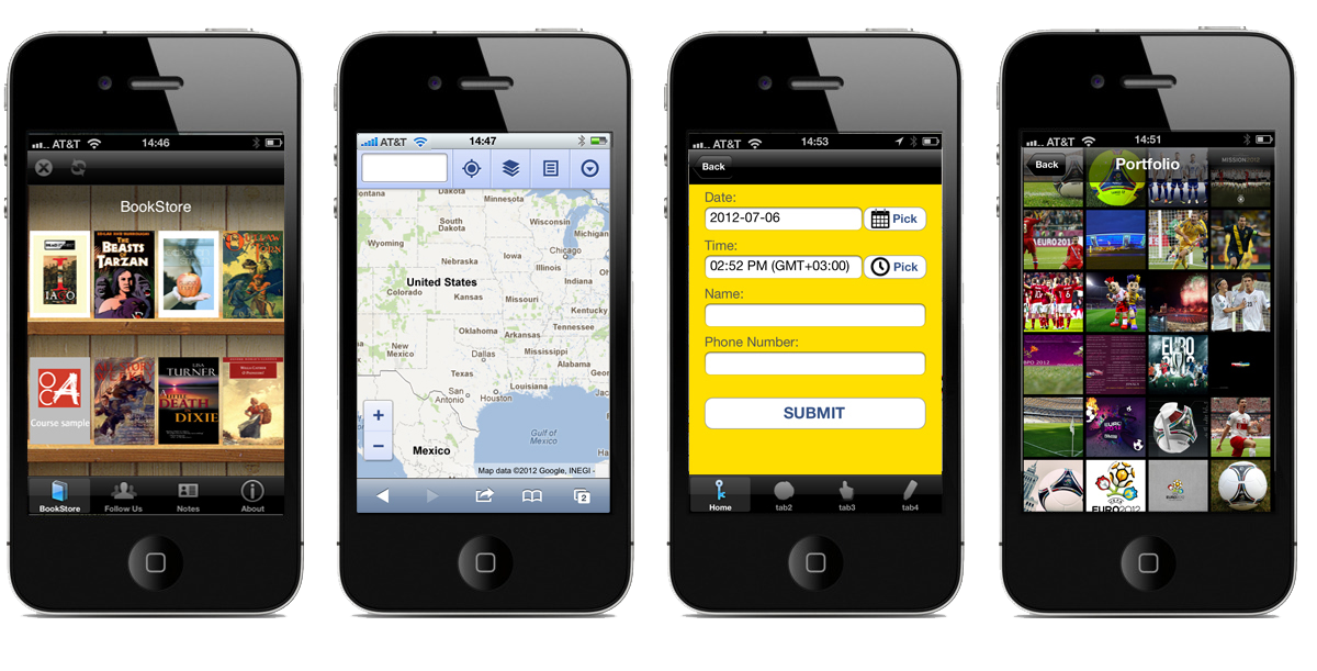 CREATE A MOBILE APPS FOR YOUR BUSINESS! Create an app in