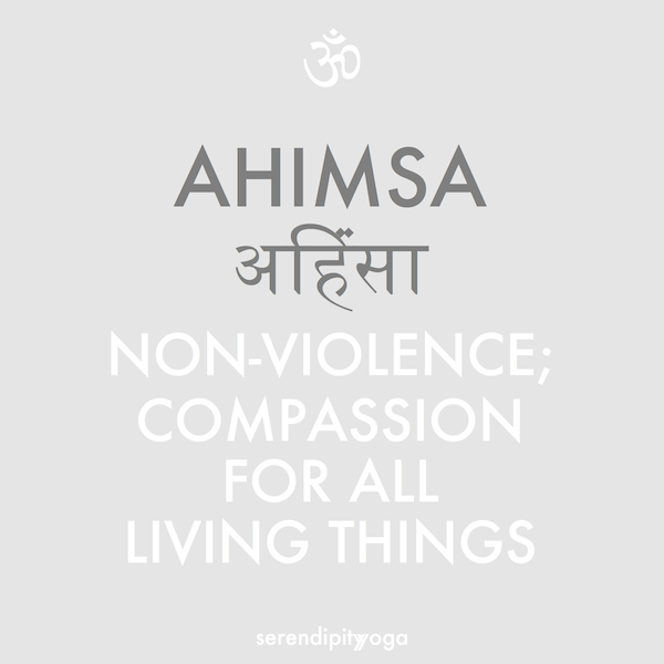 Ahimsa Non Violence Compassion For All Living Things Tattoo