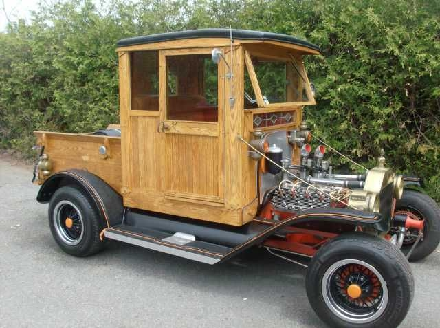 1915 Ford Model T Hot Rod Truck Turn Heads With This Oak Body