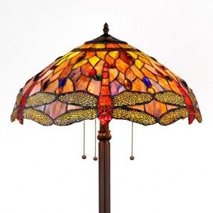 Stained Glass Tiffany Style Floor Lamps for Sale | All Things ...
