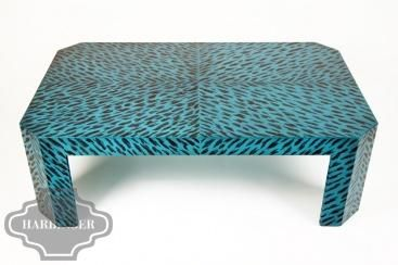 Blue Tortoise Capri Coffee Table