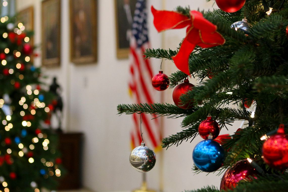 Christmas, celebrated by most Christians on December 25