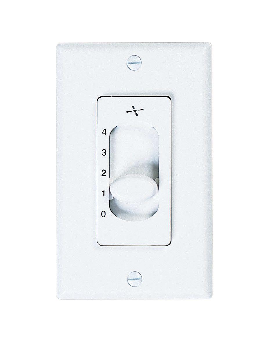 four speed ceiling fan slide wall control emerson on wall control id=51849