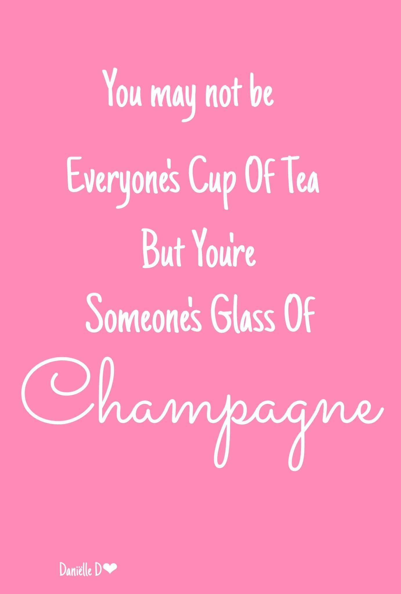 Champagne Inspirerande Citat Fina Ord Citat