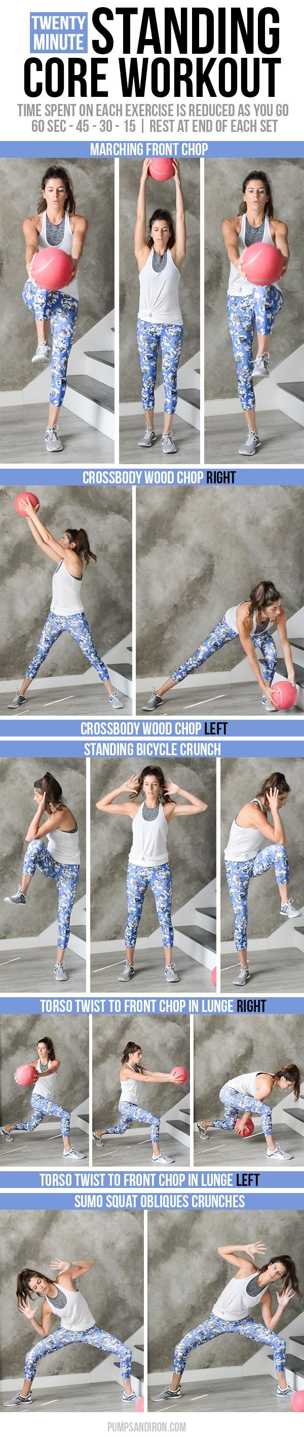 Standing Core Workout | Pumps & Iron