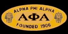 Founders Pin #AlphaPhiAlpha