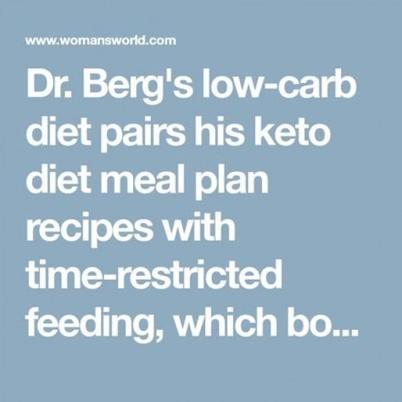 Dr. Berg's low-carb diet pairs his keto diet meal plan ...