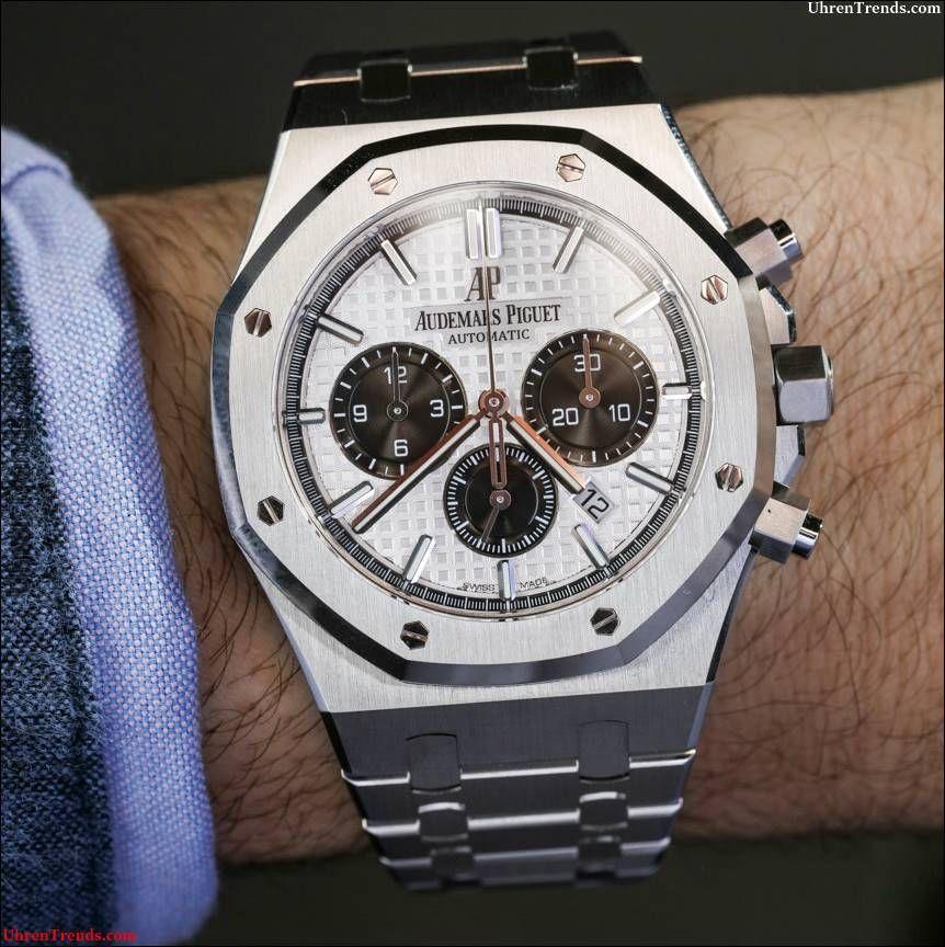 0fc8aeb4a1c Audemars Piguet Royal Oak Chronograph Uhr In Stahl Hands-On  audemars   chronograph