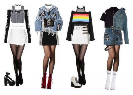 Best fashion ilustration gucci polyvore ideas #kpopfashion