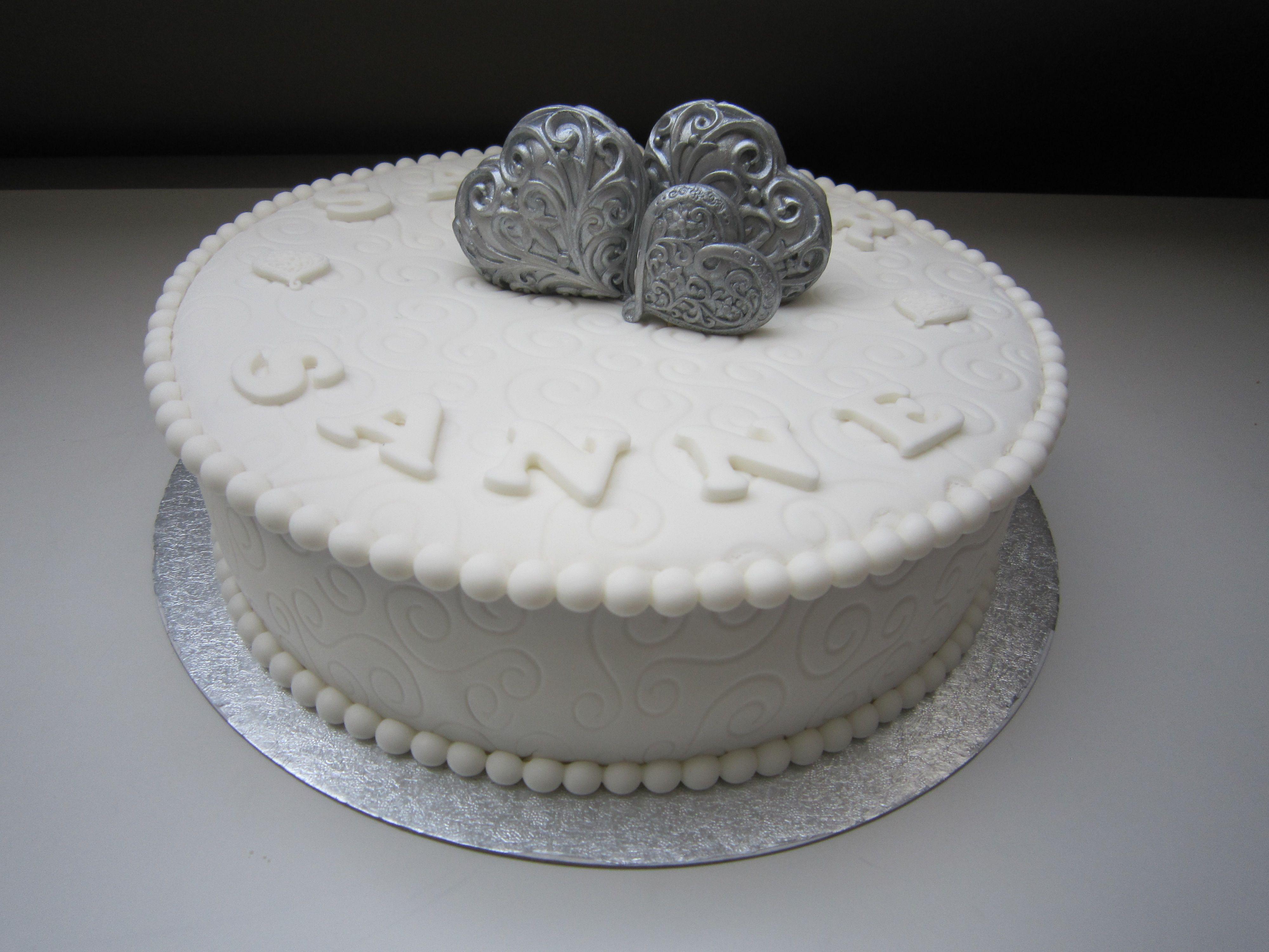 Wedding cake / bruidstaart / fondant