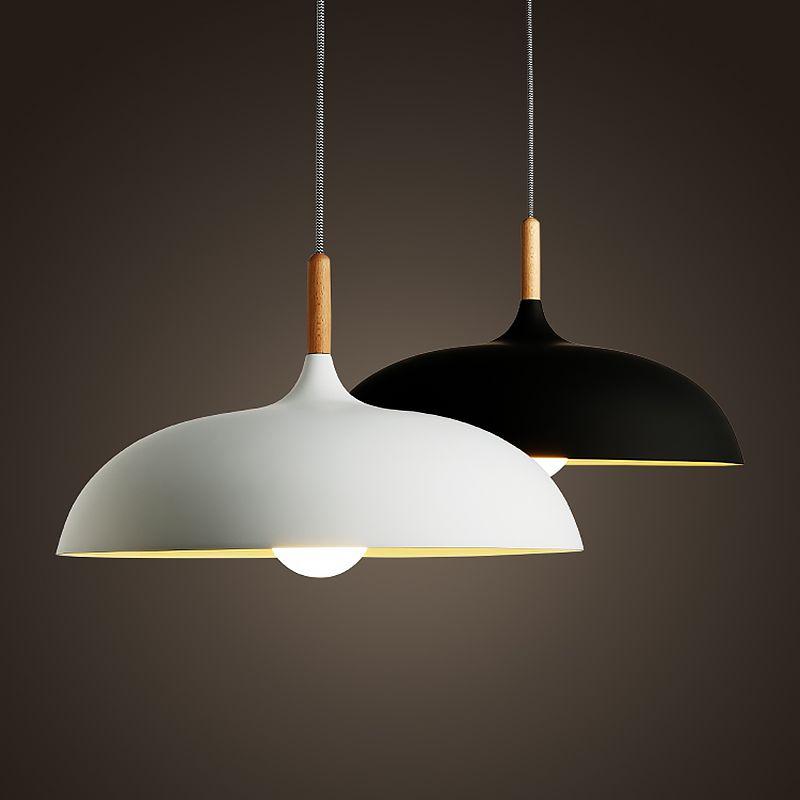 Northern Europe Japan Style Pendant Light Simple Modern Wood